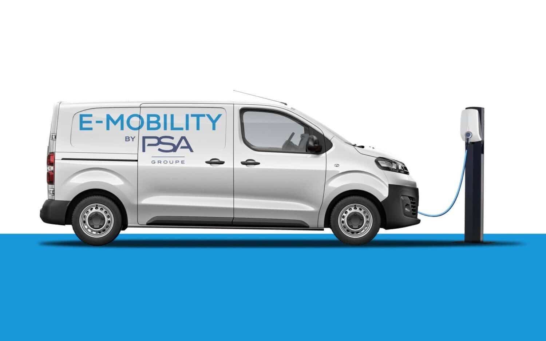 Groupe PSA elektrifiziert sein Nutzfahrzeugsegment