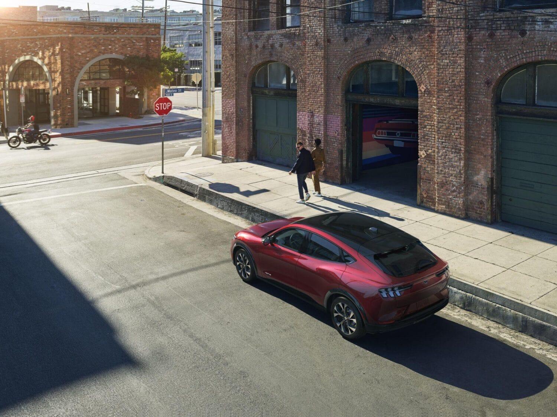 Ford Mustang Mach-E Aufsicht
