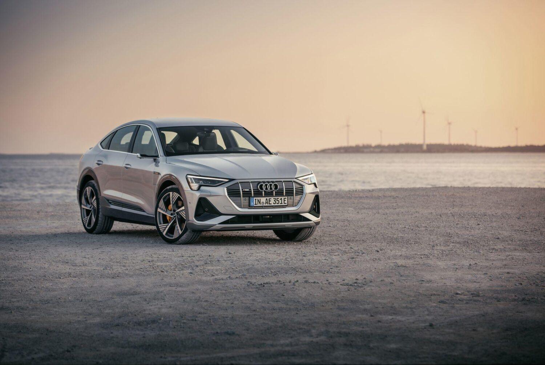 Audi e-tron Sportback Frontansicht