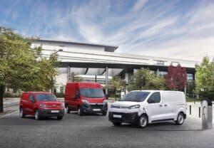 Citroën startet eine umfassende Elektrifizierungsoffensive für leichte Nutzfahrzeuge.