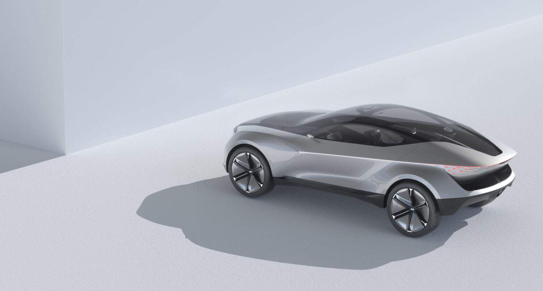 Kia Futuron Concept seitliche Rückansicht