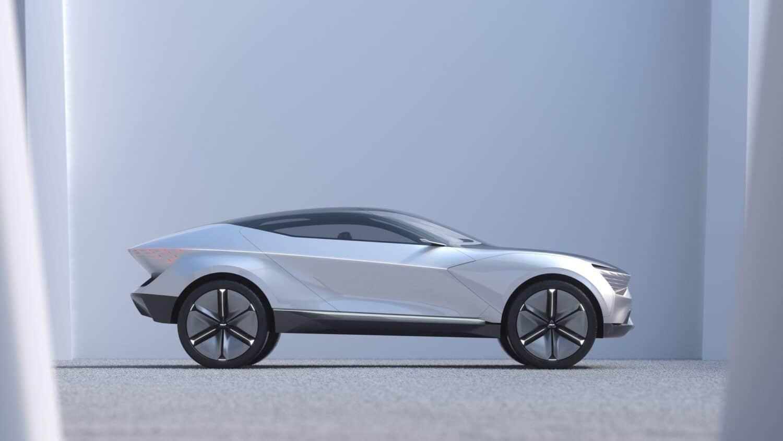Kia Futuron Concept Seitenansicht