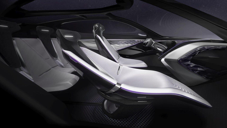 Kia Futuron Concept Innenraum