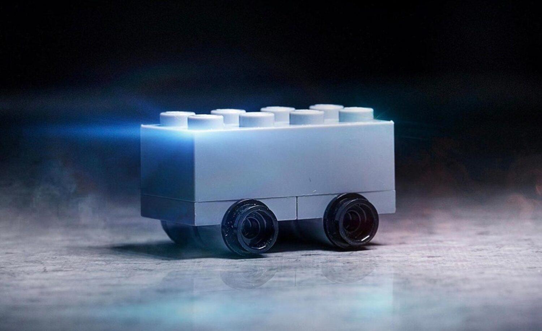 Lego Cybertruck wirkt unzerstörbar