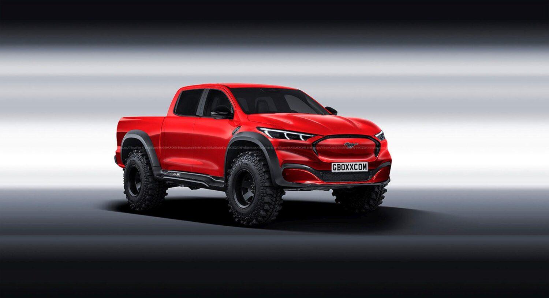 Mustang Mach-E Pickup eine Vision für die Zukunft?