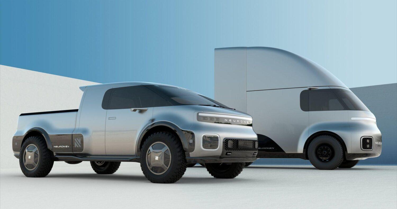 Neuron EV zeigt E-Pickup und Truck