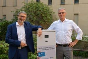 Stefan Pagenkopf-Martin und Dr. Andreas Zumschlinge