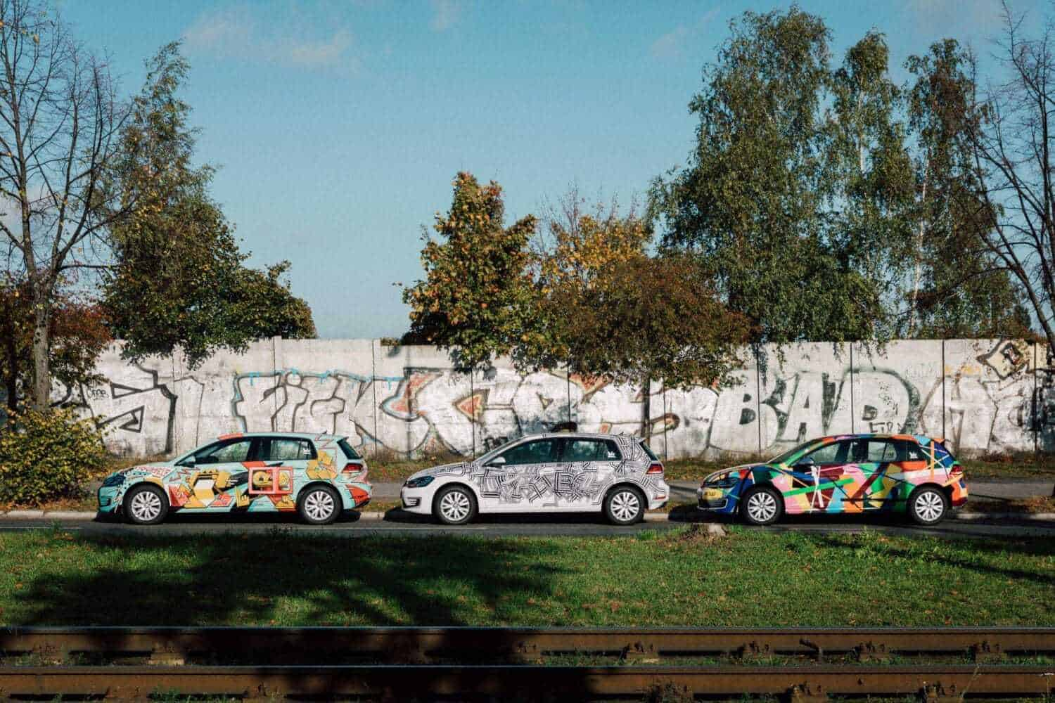 "WeShare launcht 100% ""Art Cars"" in Berlin"