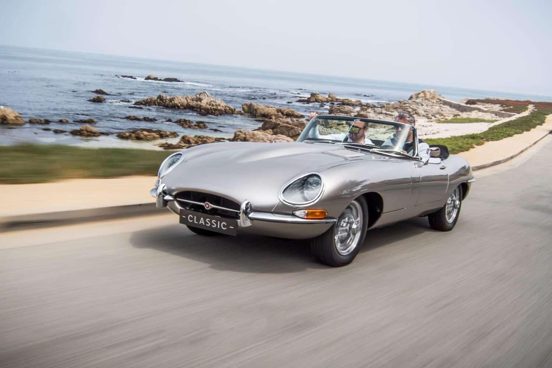 Jaguar stellt Elektrifizierung des E-Type ein