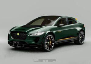Lister präsentiert SUV E Concept des Jaguar I-PACE