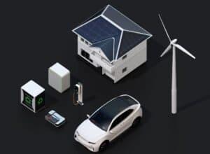 Nissan erprobt die Integration von Elektroautos in öffentliche und private Stromnetze
