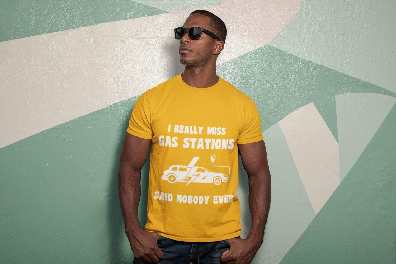 Statement für E-Mobilität mit Shirt setzen