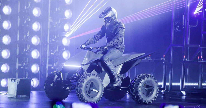 Tesla stellt vollelektrisches Quad Bike vor