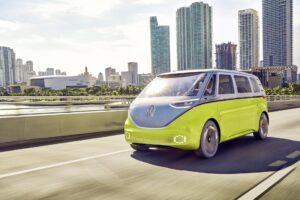 VW ID. BUZZ in Qatar im Einsatz