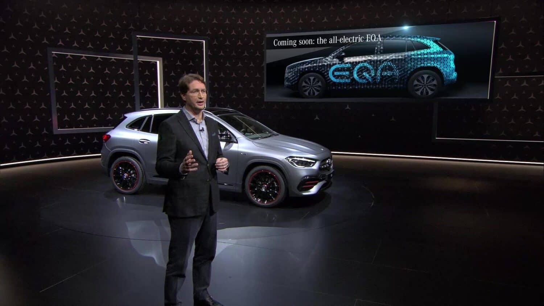 Mercedes-Benz EQA als Serienfahrzeug angekündigt