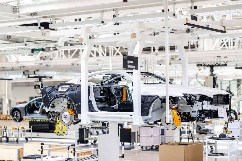 Polestar startet die Produktion der Polestar 2 Prototypen im Werk Luqiao, China