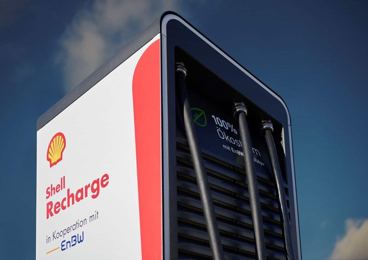 Shell und EnBW errichten gemeinsam Schnellladesäulen