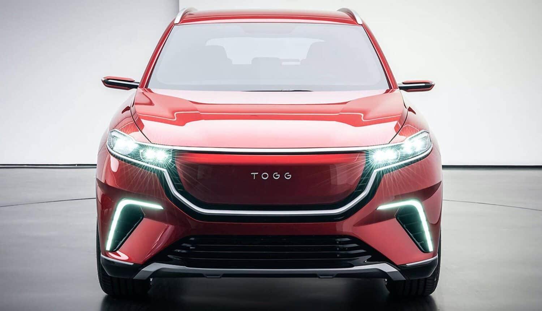 TOGG E-SUV Front