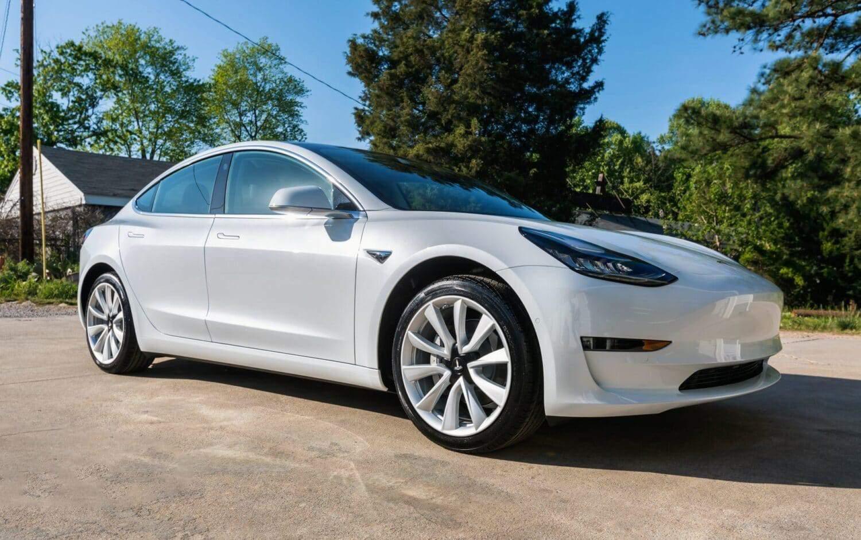 Tesla Model 3 in China unterwegs