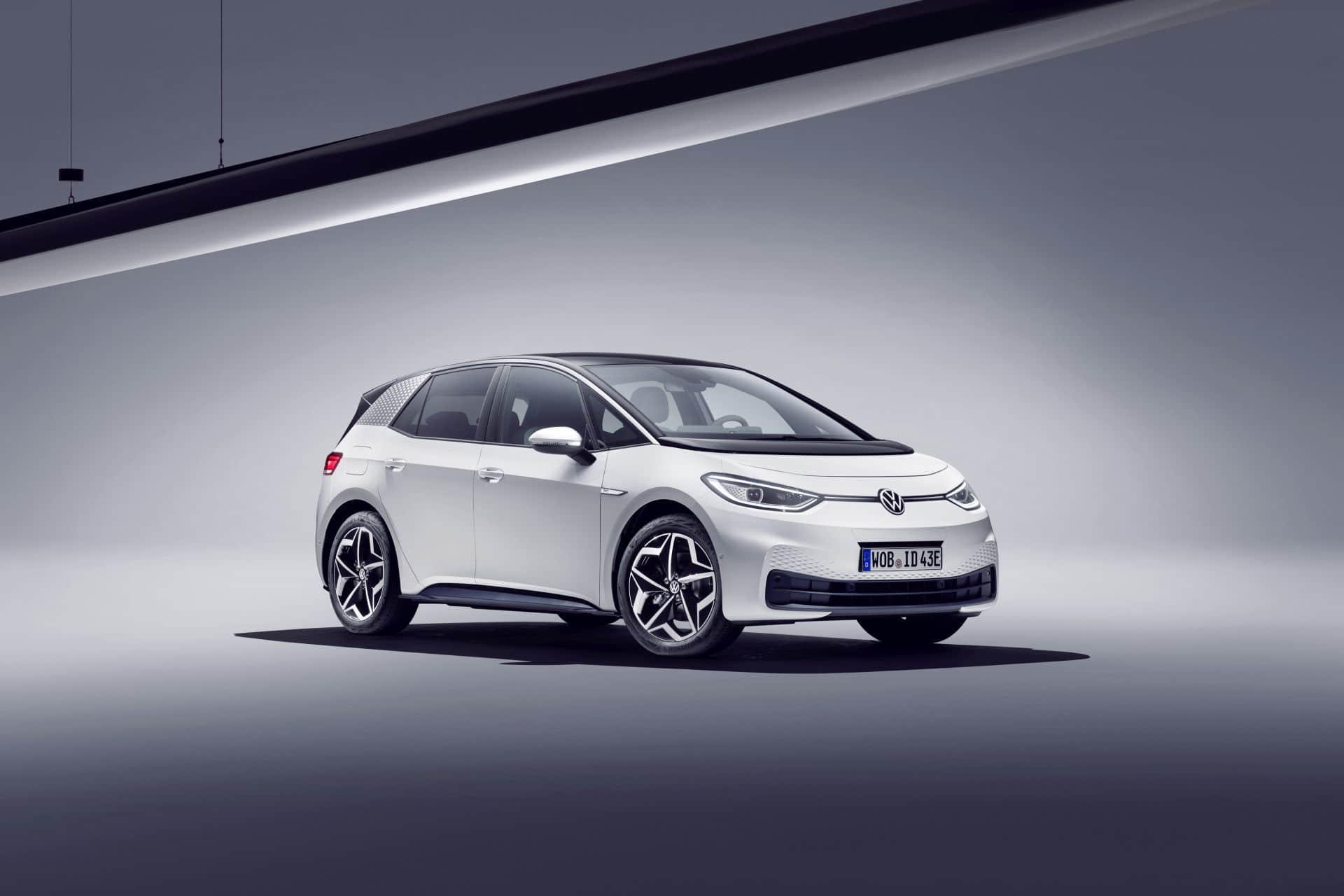 VW ID.3 Auslieferung der Serienversion erst ab September/ Oktober 2020