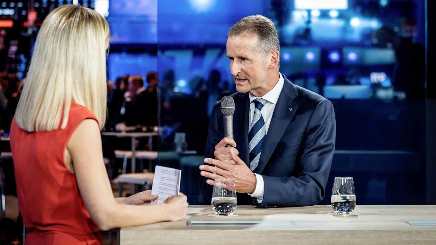 """VW-Chef Diess fordert europäischen """"Masterplan"""" für Elektroauto-Ladeinfrastruktur"""