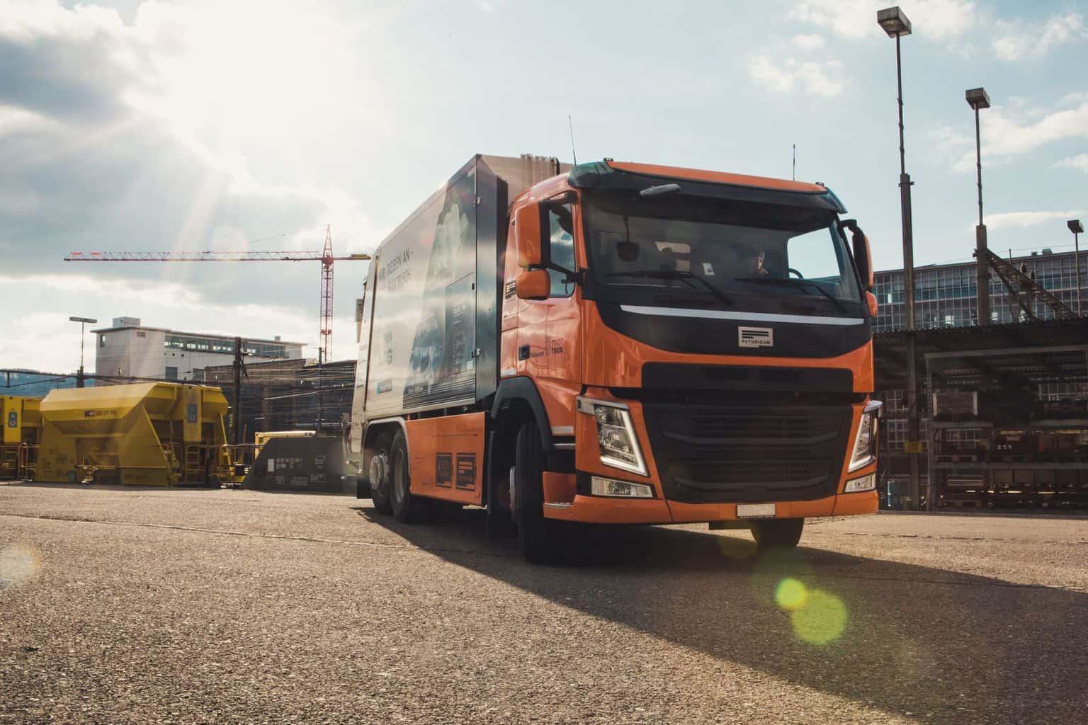 Futuricum bringt elektrische Müllfahrzeuge in Basel auf die Straße