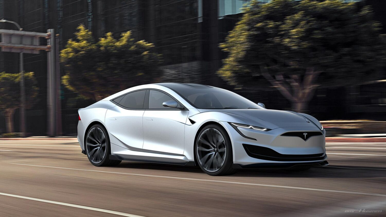 Tesla Model S II Concept Car