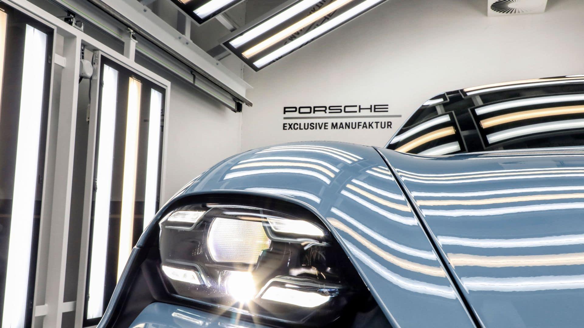 Porsche Exclusive Manufaktur: Kein Taycan gleicht dem anderen