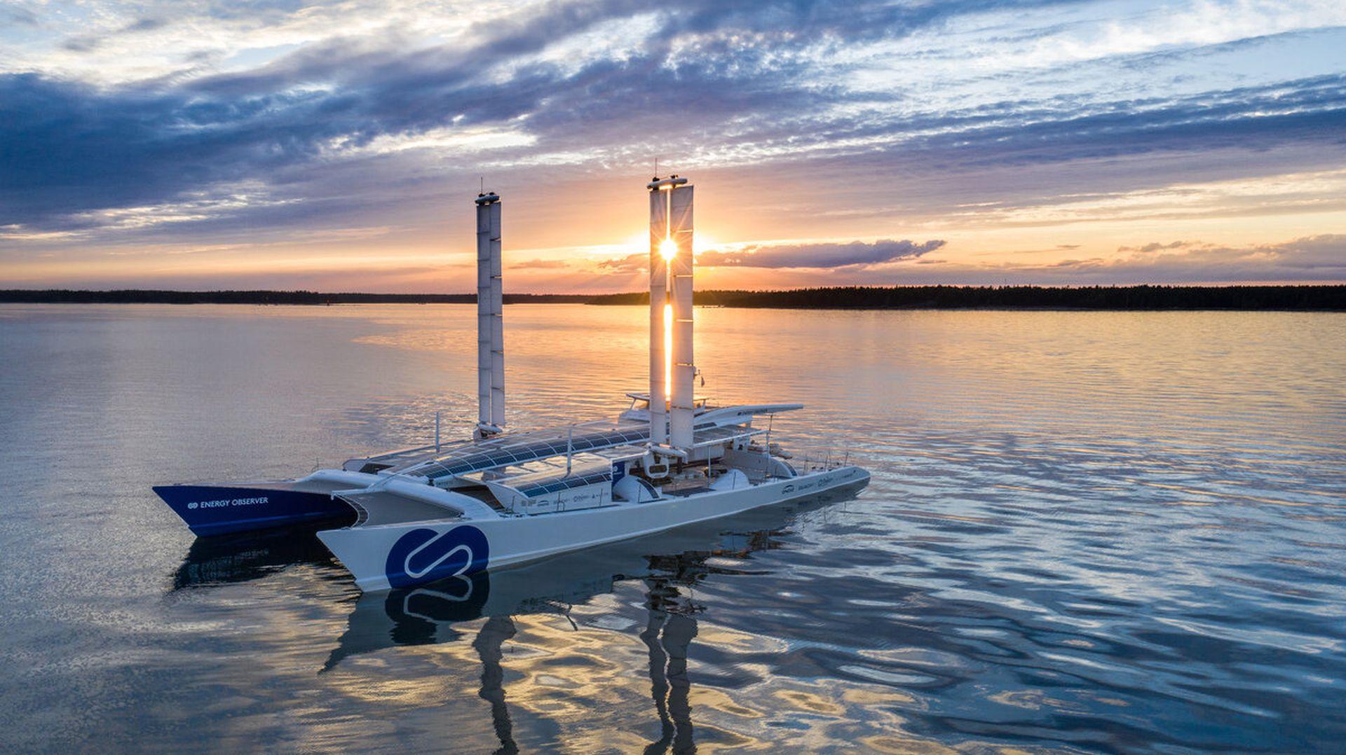 Toyota bringt den Brennstoffzellenantrieb auf hohe See
