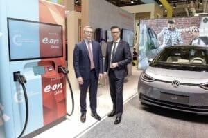 VW und e.ON machen Ultra-Schnellladen einfach, günstig und überall möglich