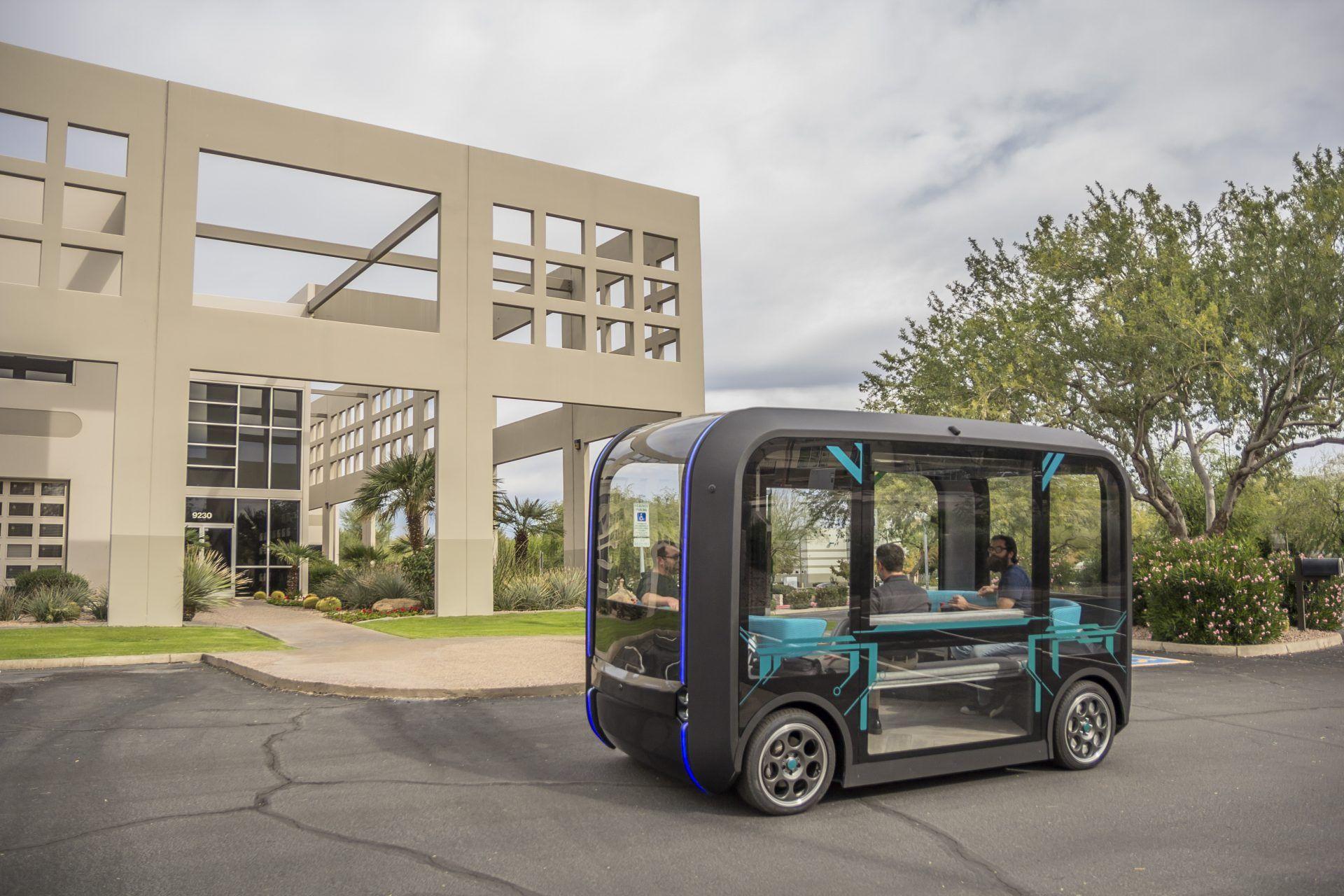 Olli 2.0: 3D-gedrucktes, elektrisches, autonom fahrendes Passagier-Shuttle
