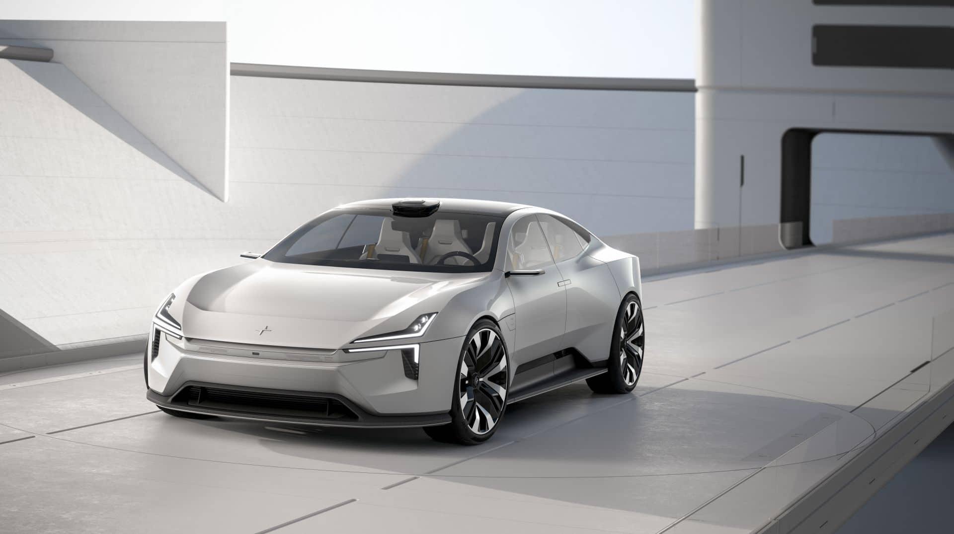 Polestar Precept offenbart die Vision zukünftiger Fahrzeuge
