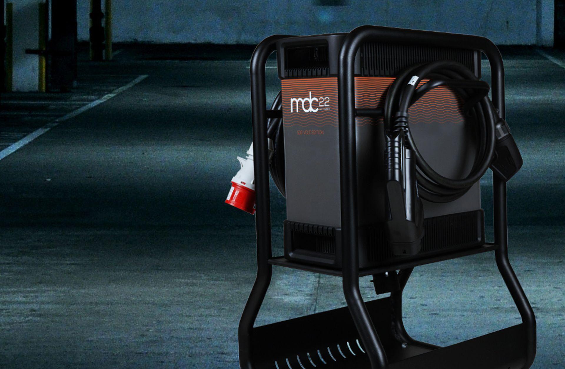 Designwerk: Marktstart mobiler Ladegeräte für Fahrzeuge mit höheren Batteriespannung