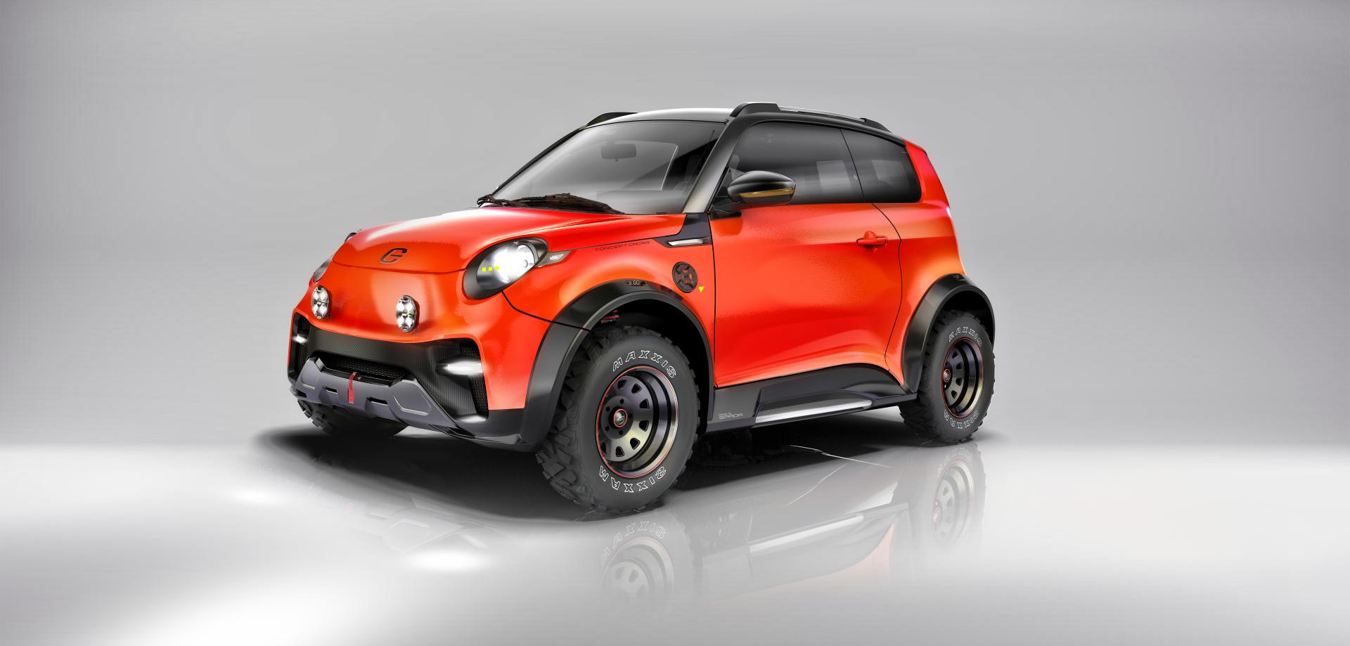 e.GO Life Concept Cross: Vollelektrisches City Utility Vehicle (CUV)