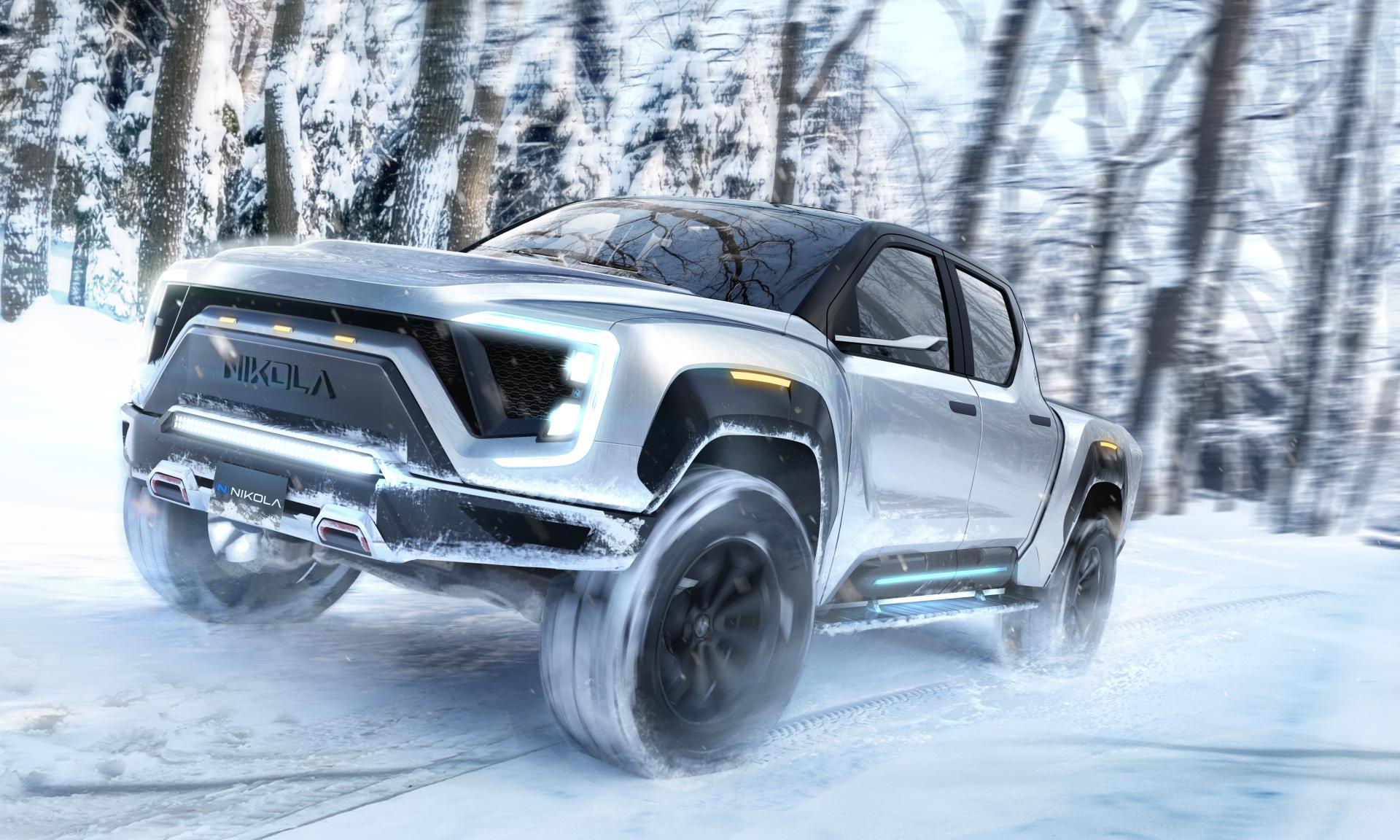 Nikola Badger: Elektro-Pickup-Truck mit bis zu 965 km Reichweite