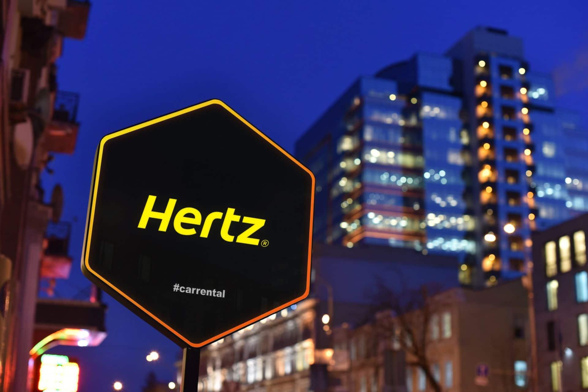 Hertz investiert weiterhin in E-Offensive
