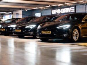 Komplett digitale Autovermietung UFODRIVE kommt mit Tesla nach Berlin