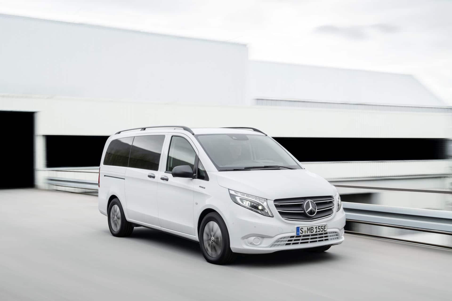 Mercedes-Benz eVito Tourer mit 150 kW und 421 Kilometer Reichweite