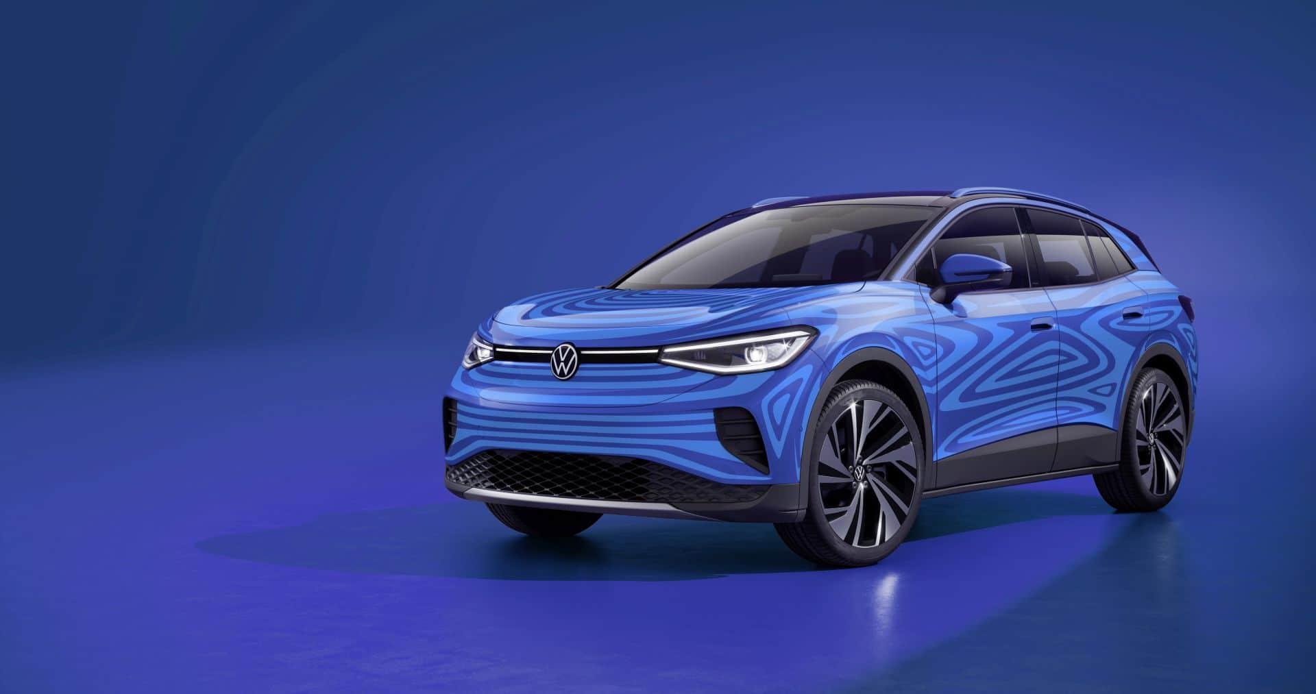 VW ID.4 kompakt SUV mit über 500 km Reichweite kommt noch 2020