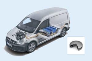 Freudenberg lässt die Batterie atmen: ABT e-line bringt Druckausgleichselement in Serie
