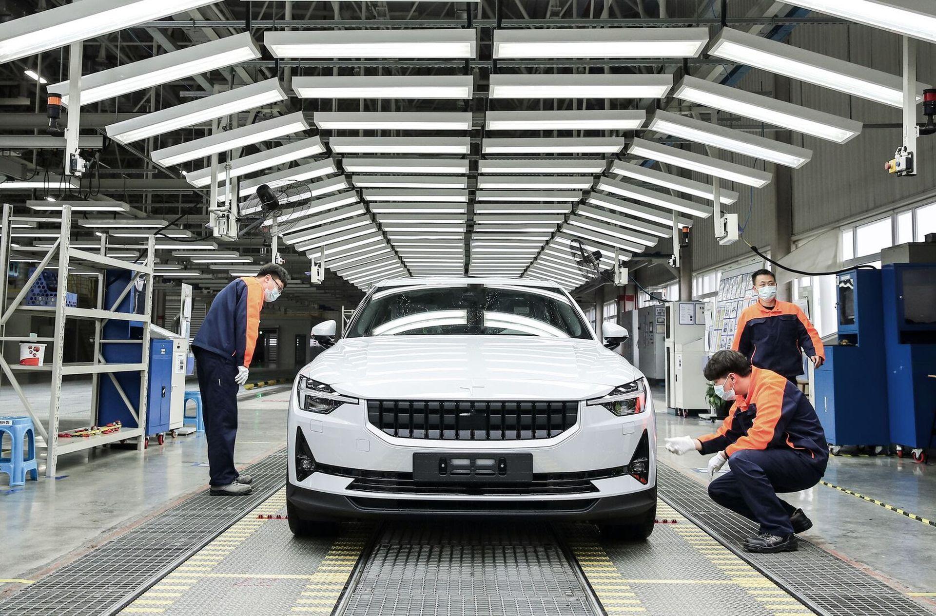 Polestar 2 - Serien-Produktion in Luqiao, China gestartet