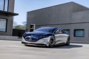 Mercedes AMG EQS: Ab 2022 als E-High-Performance-Fahrzeug am Start