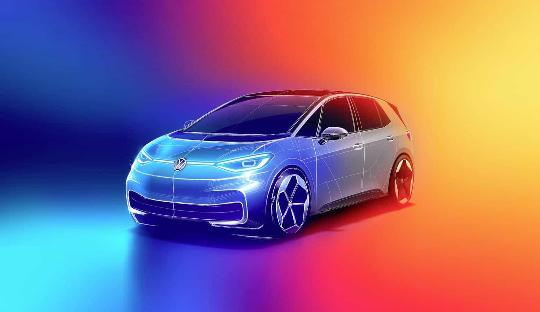 VW ID.3 noch nicht auf der Straße - schon denkt man an die Zukunft