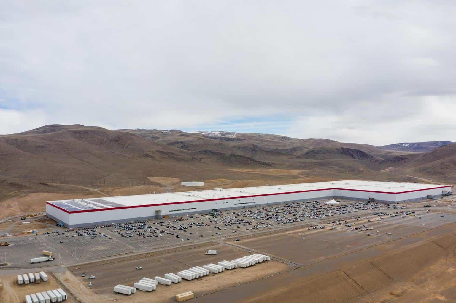 Panasonic erwägt dank hoher Nachfrage Erweiterung der Tesla-Gigafactory Nevada