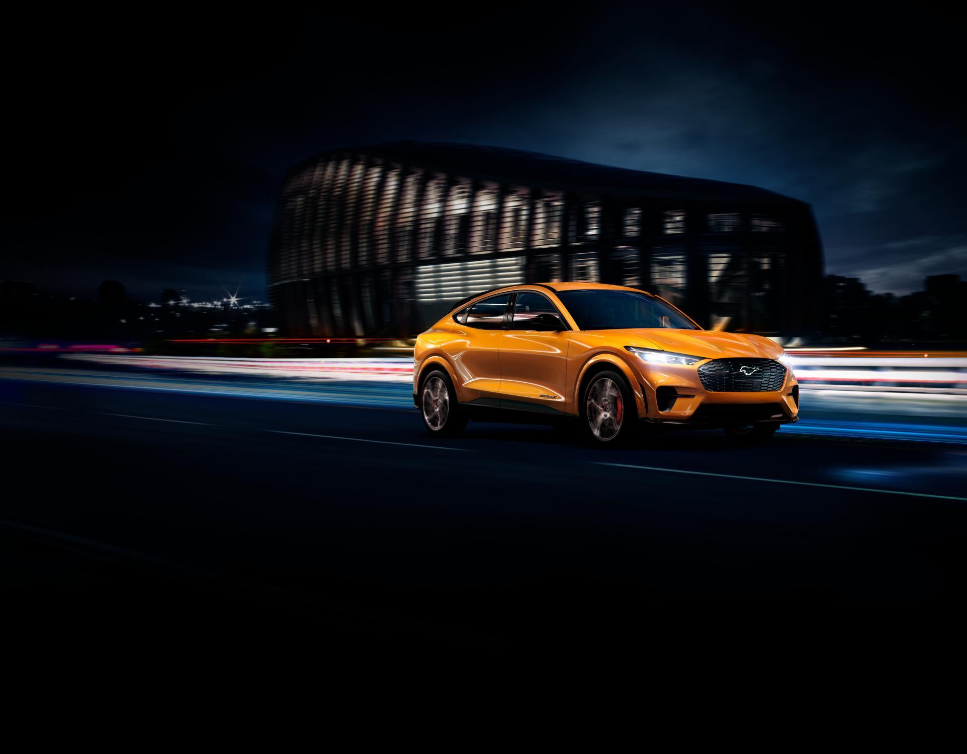 Ford hebt den Mustang Mach-E GT auch optisch auf ein neues Level