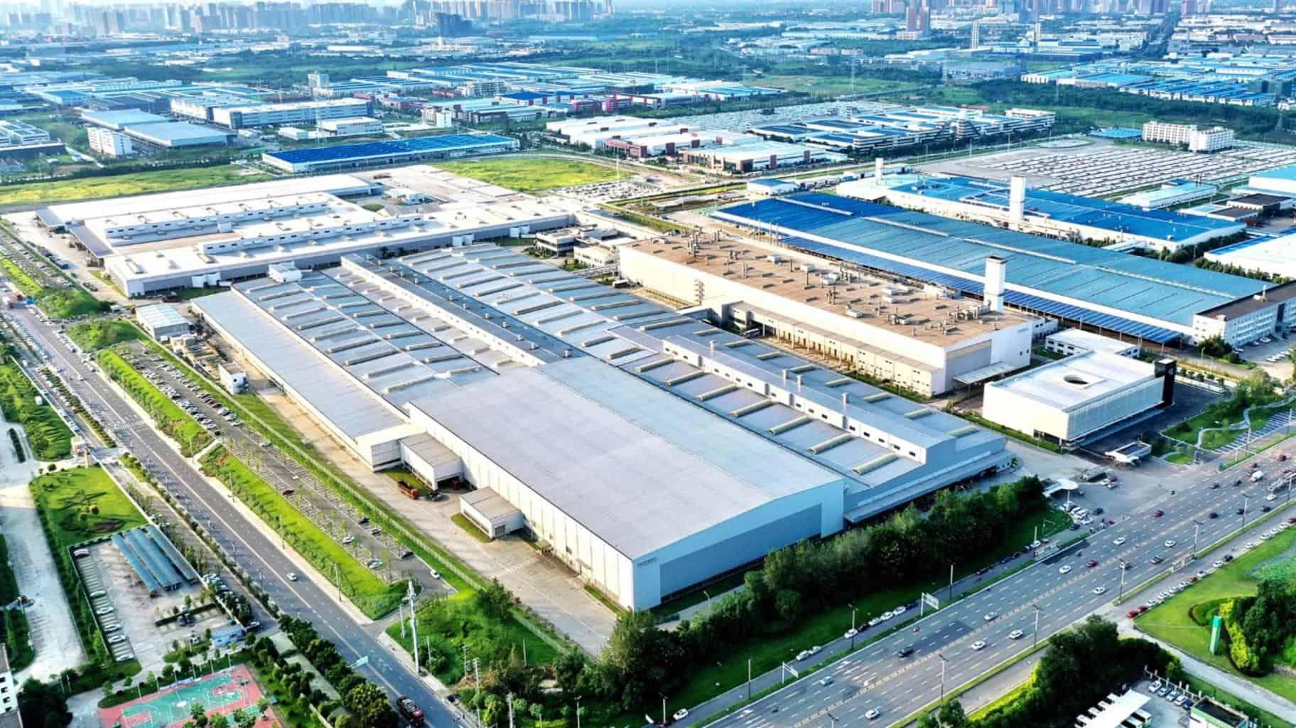 Volvo senkt im Werk Chengdu die CO2-Belastung um 11.000 Tonnen pro Jahr