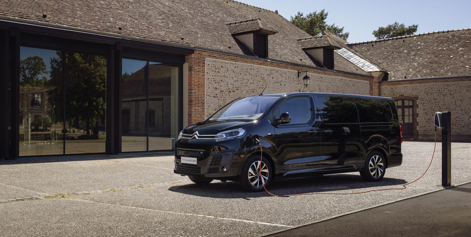 Citroën ë-SpaceTourer - Elektro-Kompaktvan für bis zu 9 Personen