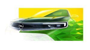 Opel Mokka-e zeigt das neue Opel-Gesicht: den Opel-Vizor