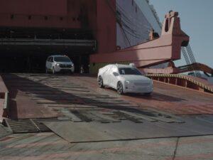 Polestar 2 Anlieferung in Europa: Erste Fahrzeuge treffen in Belgien ein