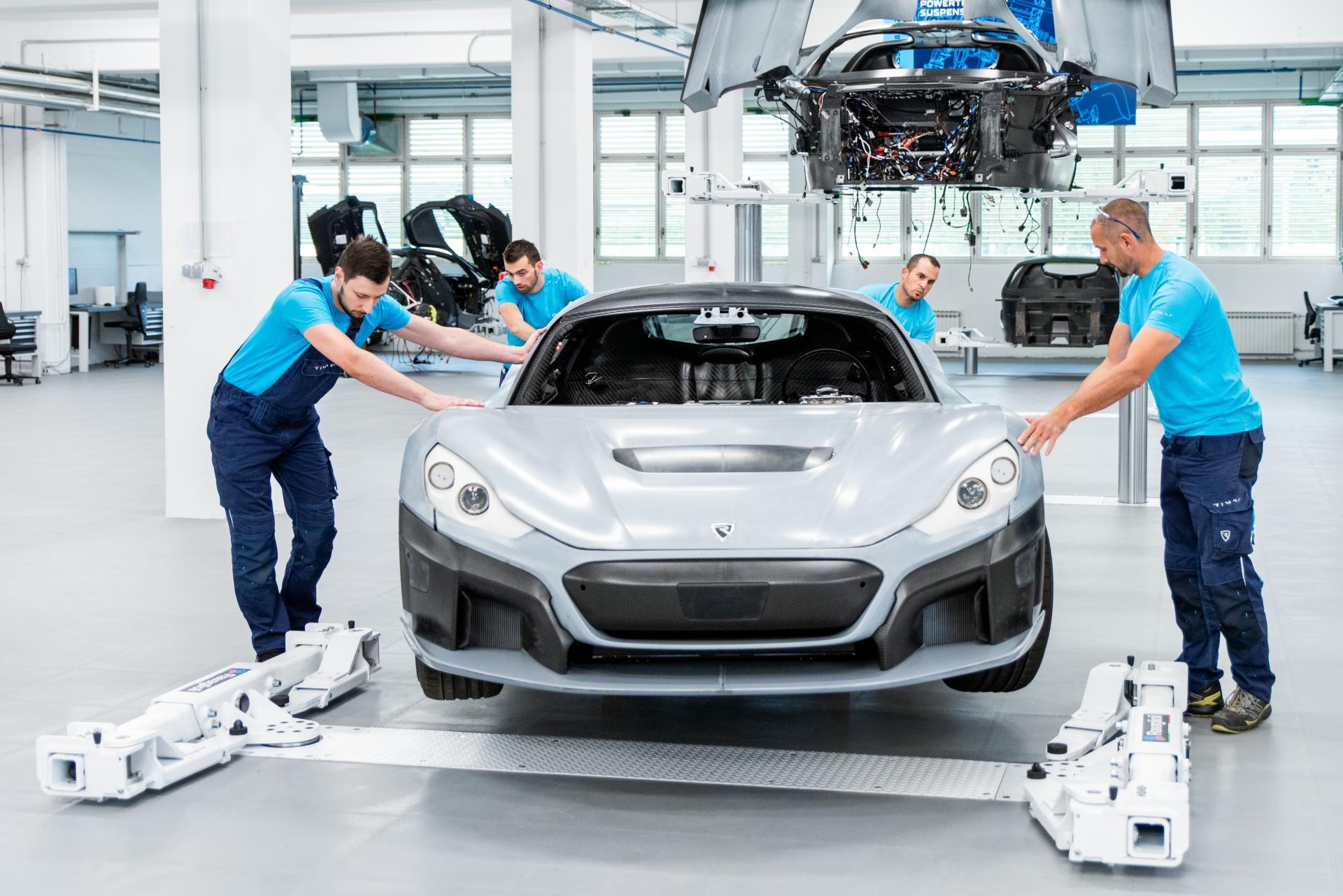 Rimac erklimmt die nächste Stufe der Hypercar C_Two-Serienproduktion